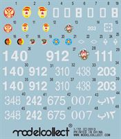 Picture of Common Soviet/Russian Army decals set  1/72