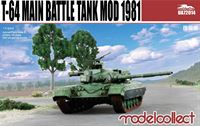 Afbeelding van T-64 main battle tank model 1981