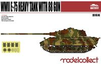 Image de Germany WWII E-75 Heavy Tank with 88 gun