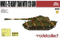 Изображение Germany WWII E-75 Heavy Tank with 128 gun