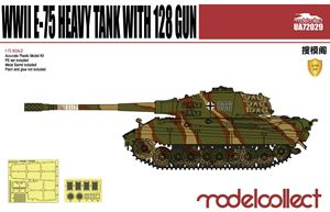 Bild von Germany WWII E-75 Heavy Tank with 128 gun
