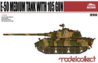 Изображение Germany WWII E-50 Medium Tank with 105 gun