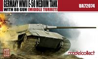 Изображение Germany WWII E-50 Medium Tank with 88 gun (large turret)
