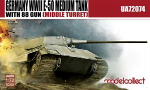 Germany WWII E-50 Medium Tank with 88 gun (large turret)