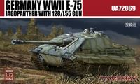Bild von Germany WWII E-75 Jagdpanther with 128/L55 gun